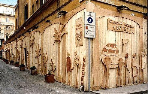 casa i tarsi in legno