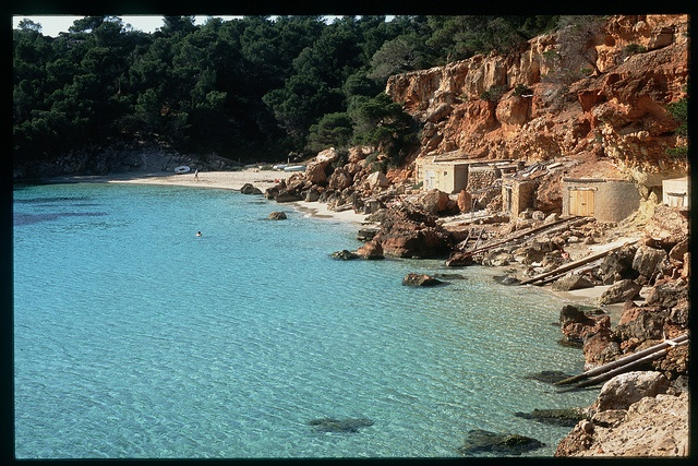 cala salada special places i have been pinterest ibiza and photos. Black Bedroom Furniture Sets. Home Design Ideas