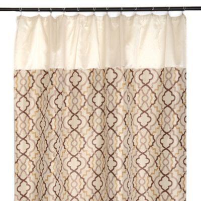 Marrakech Tan Shower Curtain