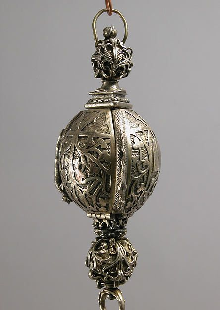 Pomander Bead from a Rosary or Devotional Pendant Date: 19th century (late 15th or early 16th century style) Geography: Made in France Culture: French