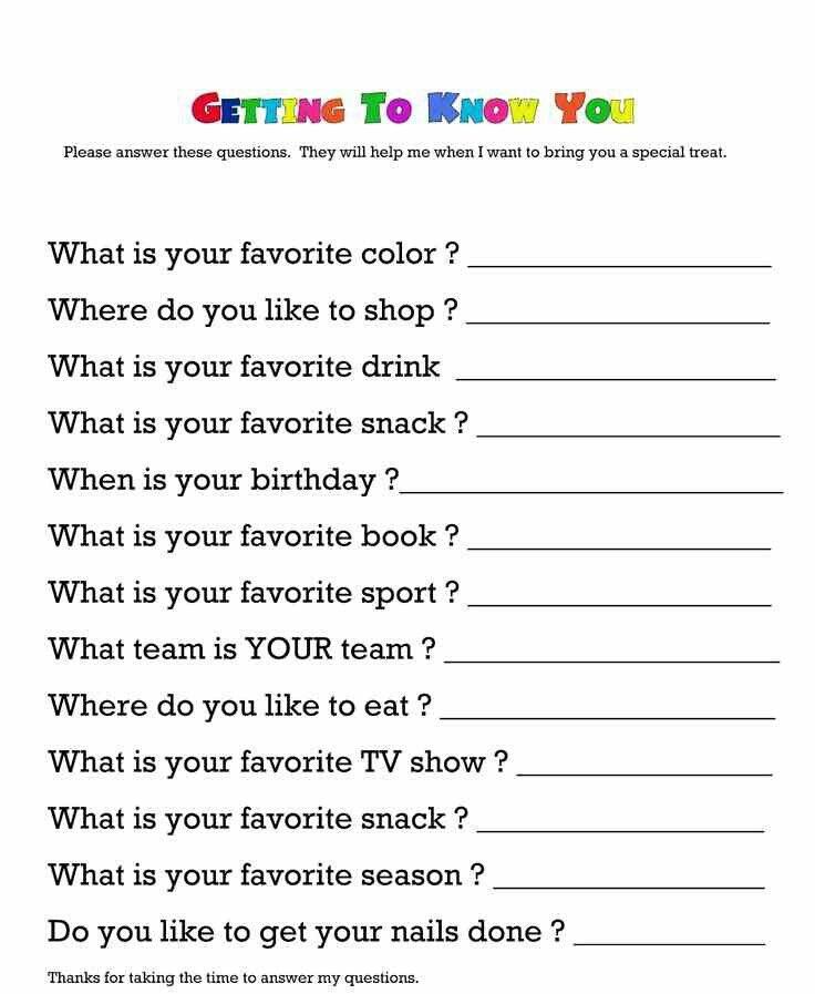 Best Teacher Questionnaire Ideas On Teacher