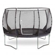 Plum®  Magnitude 8ft trampoline and enclosure