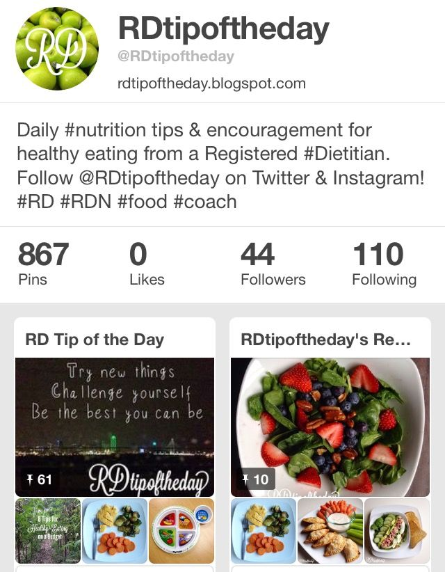Best Want To Be A Registered Dietitian Nutritionist Images On