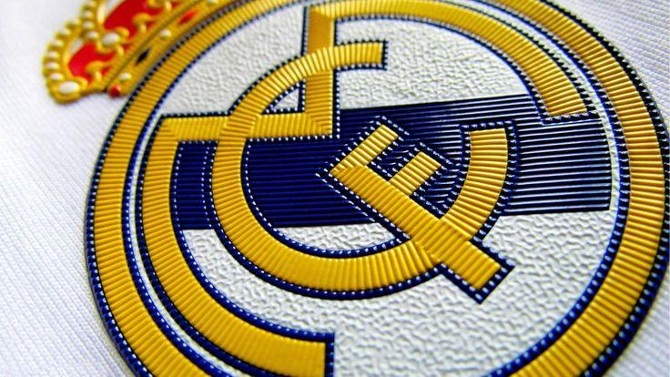 Real Madrid Football Logo HD Wallpaper