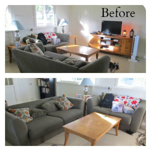 Genial Beach House Decor Living Room Makeover On A Dime