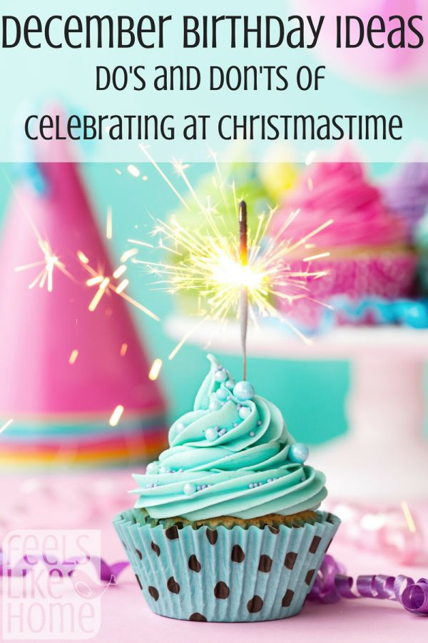 December birthday party ideas - It's so easy for people to lose December birthdays in all the celebrations and parties, but it is important to celebrate the birthday kid! I'm going to do #9 for sure!