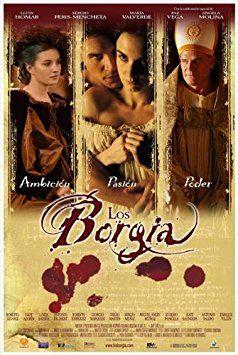 The Borgia Affiche du film Poster Movie Le Borgia (11 x 17 In - 28cm x 44cm) Spanish Style A