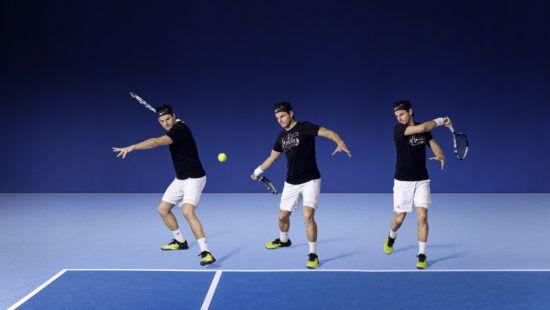 Tennis, forehand