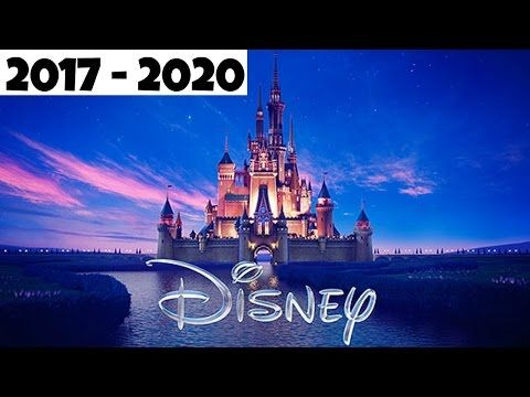 Upcoming Disney Movies But Ghost In The Shell Is Not A Disney Movie in 2017-2020!!! - YouTube