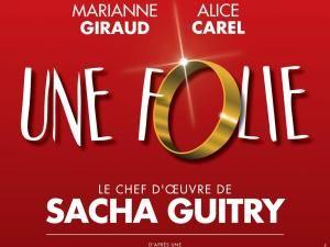 Théâtre : Une folie avec Lola Dewaere, Olivier Lejeune #concours • Hellocoton.fr