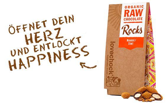 Lovechock Happiness Inside! - Mandel/Zimt