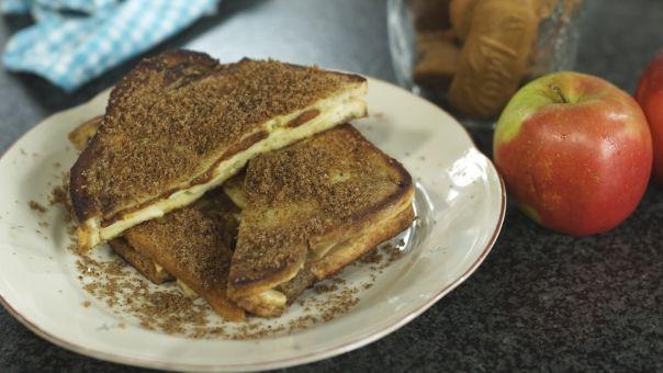 Eén - Dagelijkse kost - verloren brood met appel en speculaas