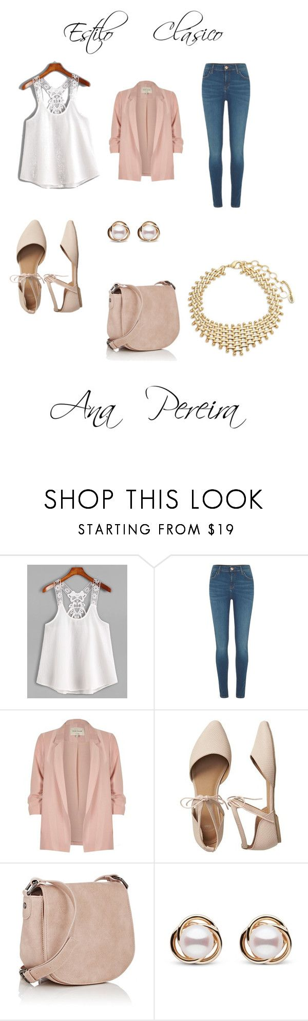 """Look elegante"" by anapereira-v on Polyvore featuring moda, River Island, Gap, Deux Lux, Trilogy y Amrita Singh"