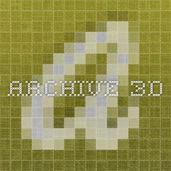 Archive 3D