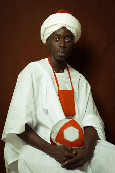 Omar Victor Diop Nach einem Gemälde von William Hoare