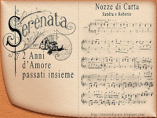 Nozze di carta: 2° Anniversario di matrimonio - virtual card
