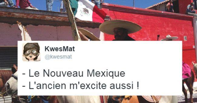 Top 15 des tweets idiots sur les Mexicains 140 caractères et du guacamole