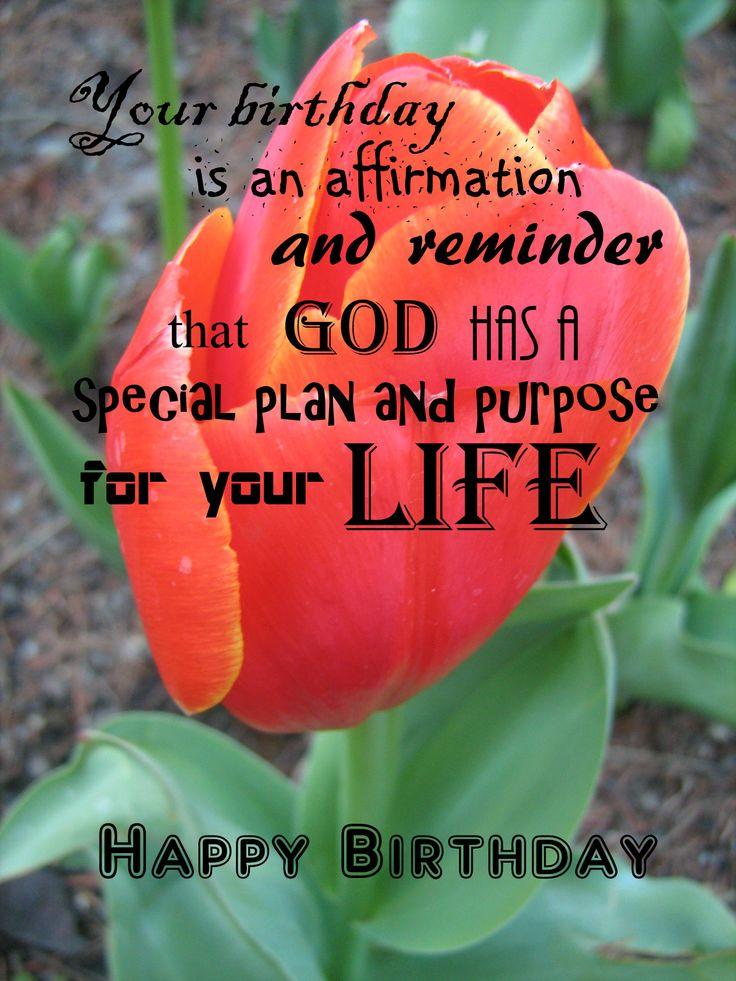 Happy Birthday - Tulip