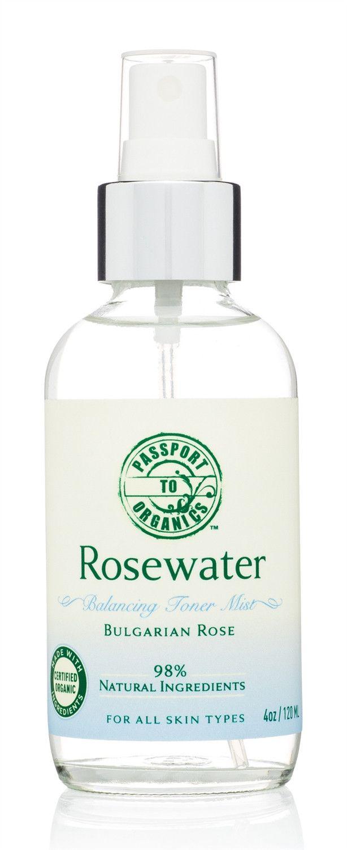 Rosewater - Balancing Toner Mist, 4oz