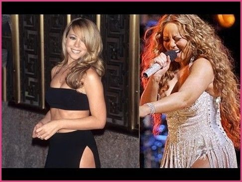 Mariah Carey Weight Gain and Diet Mistakes - YouTube in ...