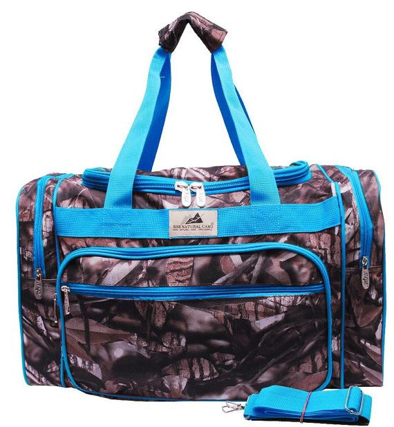 Personalized 20 natural camo duffle bag with by PersonalTouchEMB, $33.95