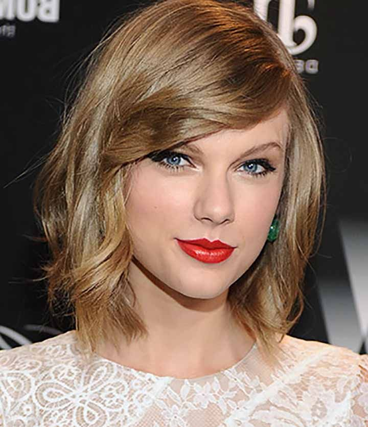 Taylor Swift Short Haircut