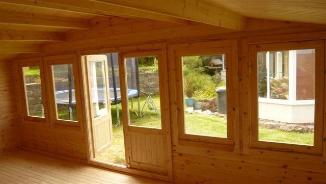 Mason 5.4M Wide - Log Cabins