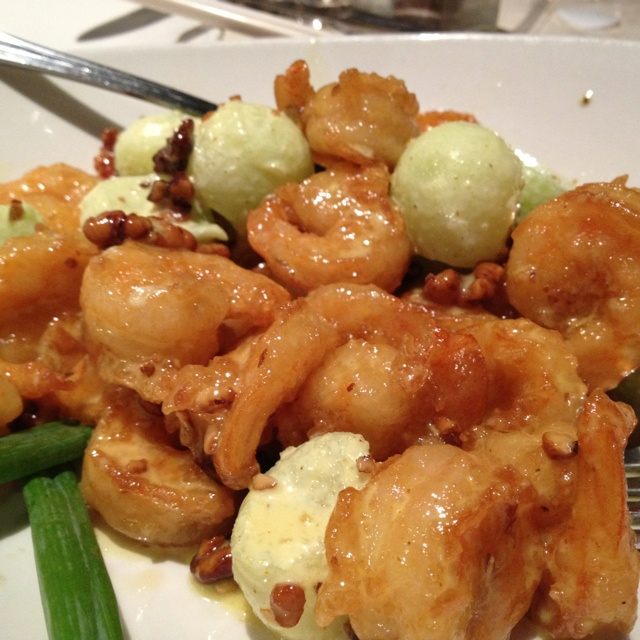Honey walnut and melon shrimp.  PF Changs has the best I have ever had.: Changing Recipes, Melon Shrimp, Food Porn, Foodies Inspiration, Honey Walnut, Copycat P F, Pf Changing S Mmm, Recipes Yum