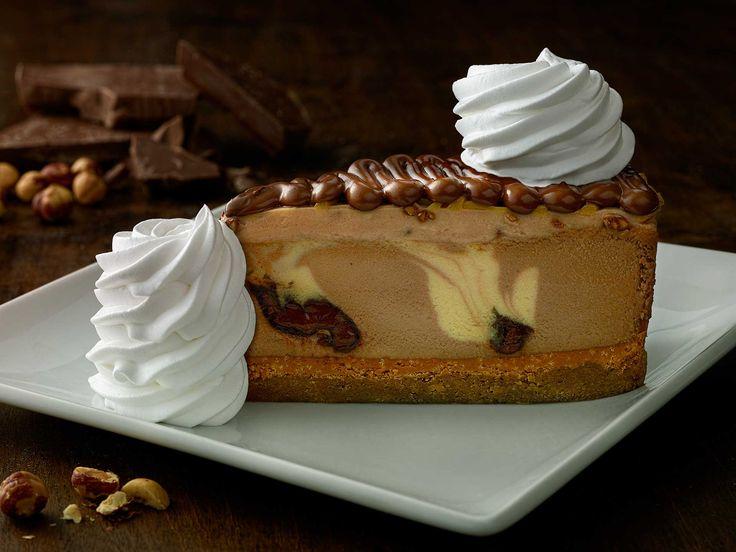 Chocolate Hazelnut Crunch Cheesecake