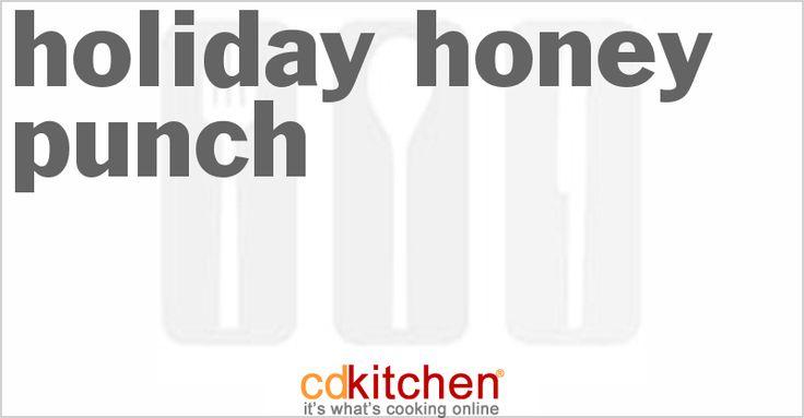 Holiday Honey Punch | CDKitchen.com
