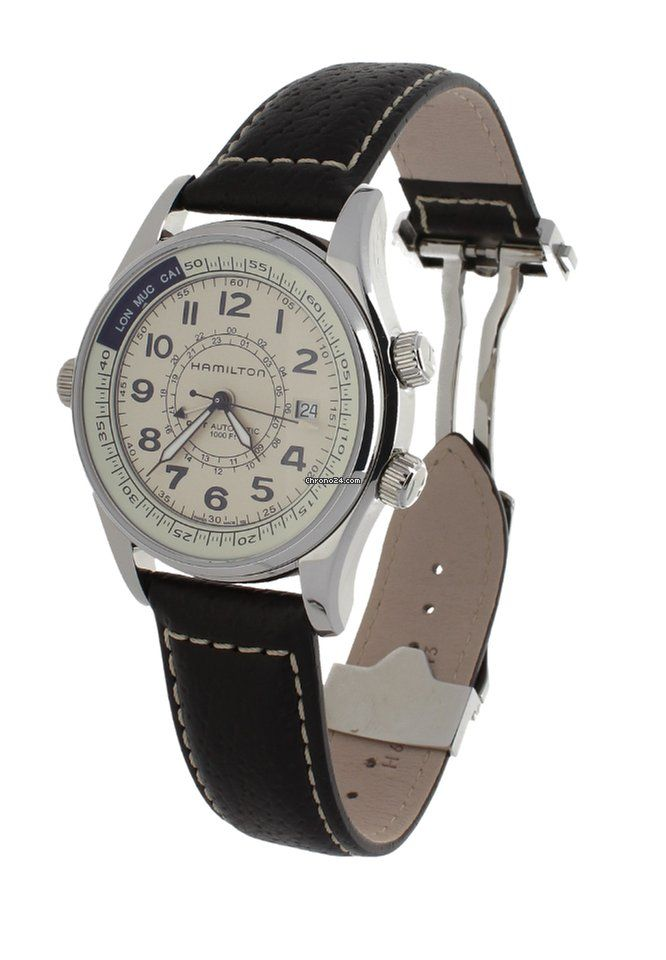 Hamilton GMT Automatic Acero/Steel H775250 for $891 for sale from a Trusted Seller on Chrono24