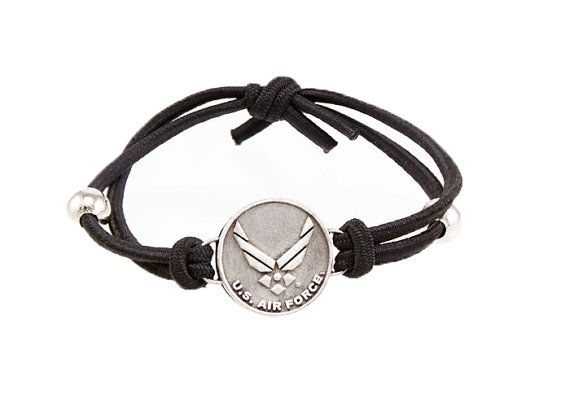 United States Air Force Logo Bracelet Military Bracelet Air Force Bracelet Homecoming Gift For Man For Woman on Etsy, $11.95