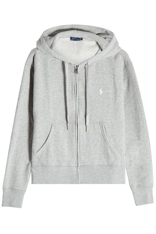 POLO RALPH LAUREN Zipped Hoodie With Cotton. #poloralphlauren #cloth #