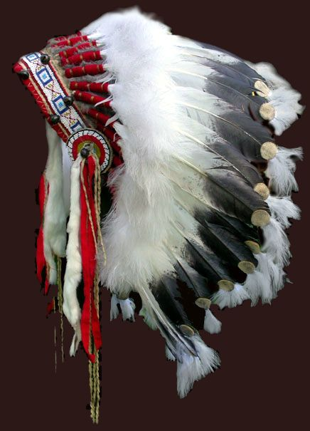 Native American headdress ... http://www.native-languages.org/headdresses.htm