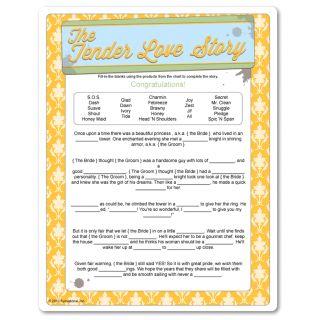 Printable The Tender Love Story - Household Poem