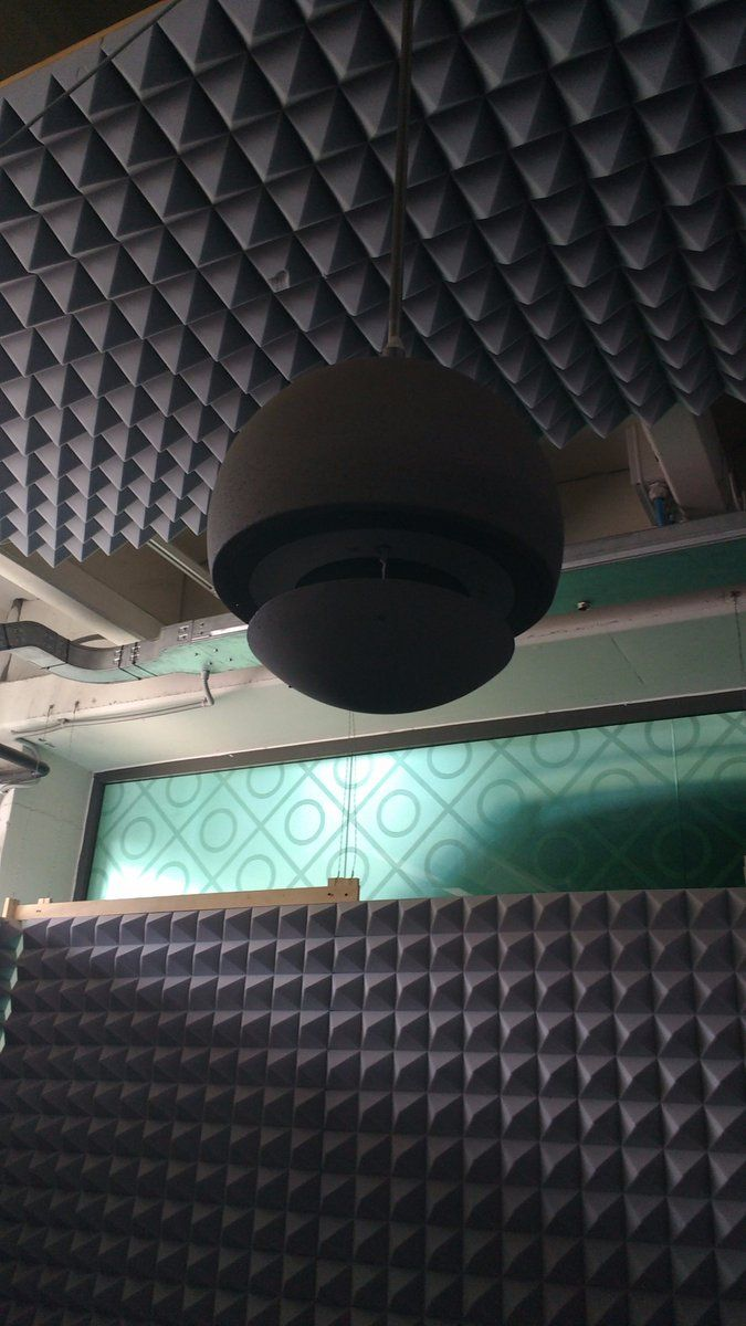 The NEW Sferina pro-sound loudspeaker from Architettura Sonora testing in the sound-room 200watts of surround sound https://t.co/KPh7MZD09g
