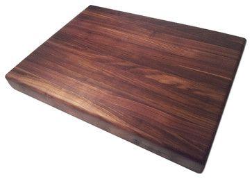 Edge Grain Walnut Butcher Block - contemporary - Cutting Boards - Armani Fine Woodworking