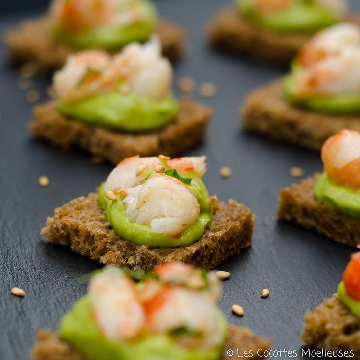 17 meilleures images propos de bouch es et entr es sur for Canape aperitif marmiton