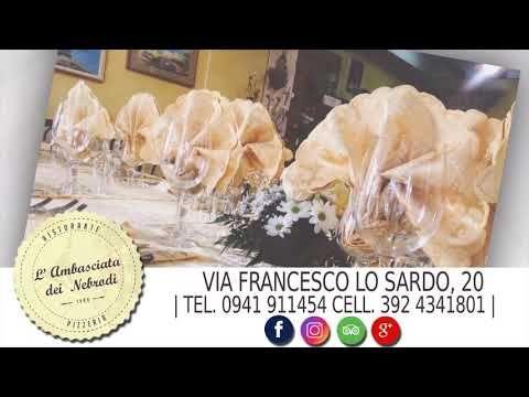(1) Ambasciata dei Nebrodi Ristorante Pizzeria, cucina tipica Siciliana - YouTube