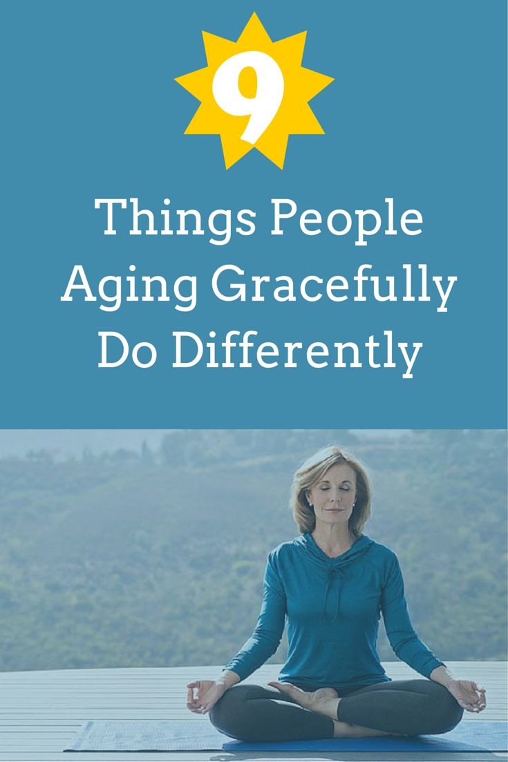 Health & Fitness Inspiration Features Things People Aging Gracefully Do Differently - See More @gr8traveltips
