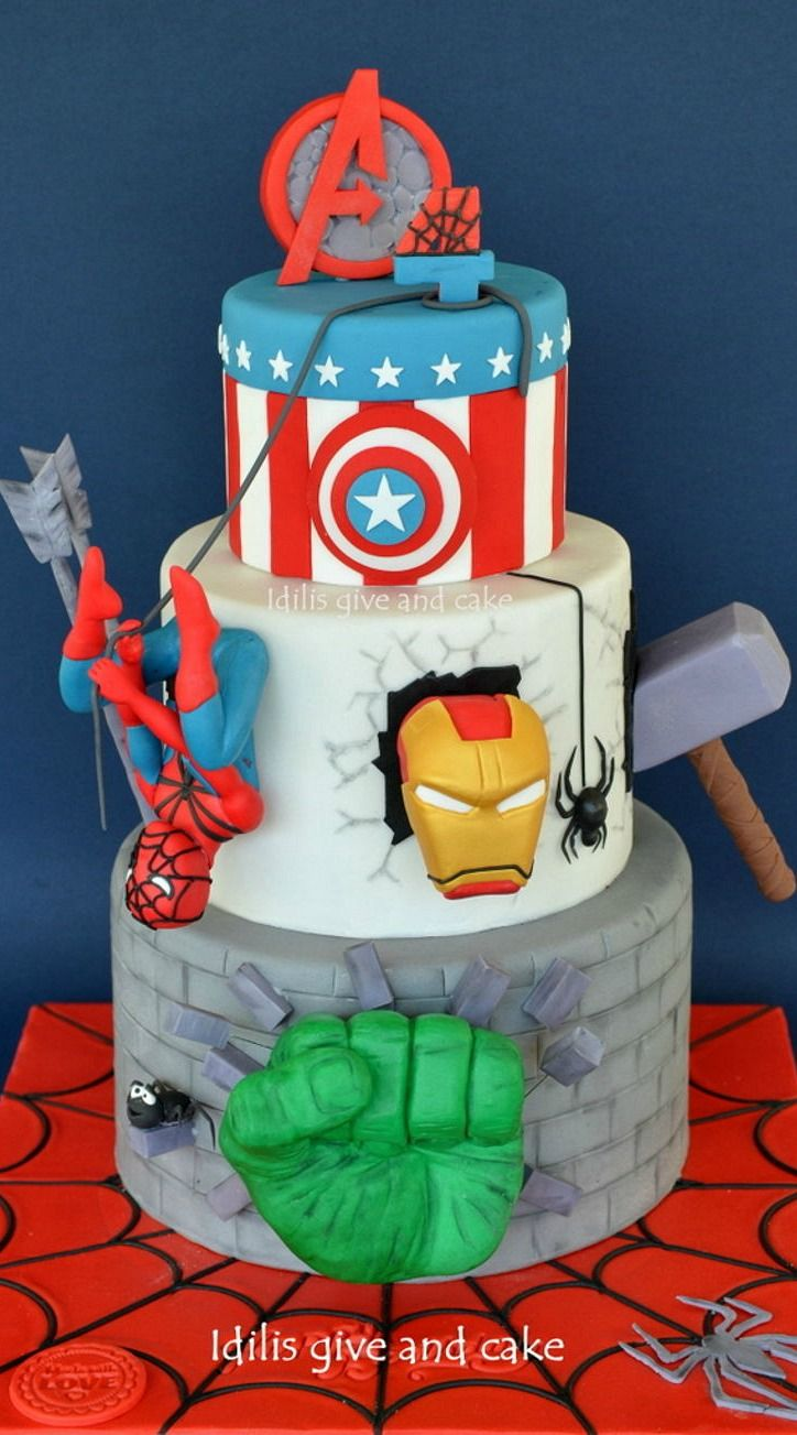avengers birthday cake 9130 best cakes and cupcakes for birthday 1403