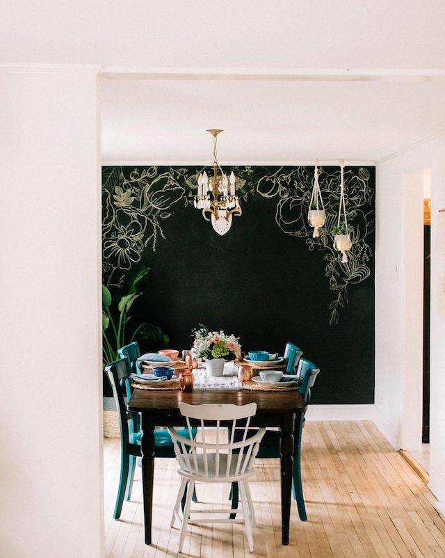 Best Westwing Dining Images On Pinterest A Asian - Chalkboard accents dining rooms