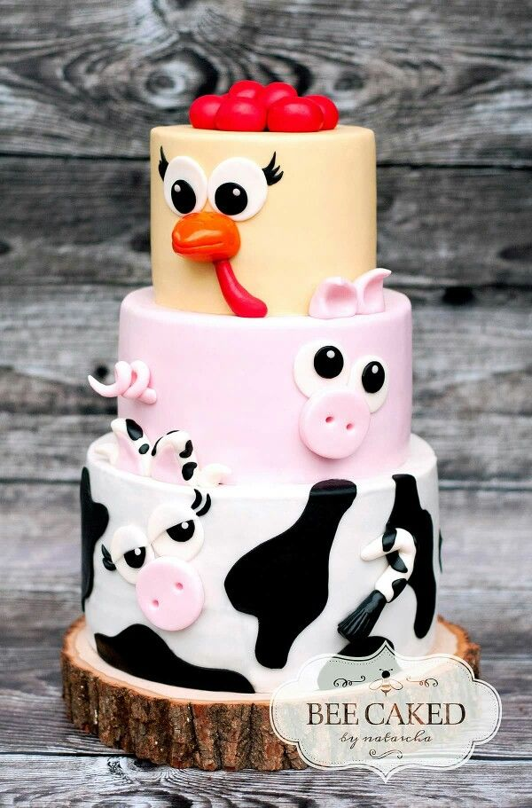 farm animal cake 25 best ideas about farm animal cakes on 4050