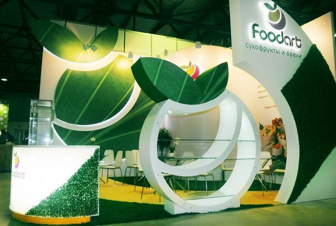 Выставочный стенд для Food Art
