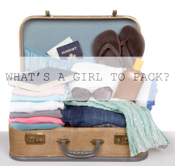 WHAT'S A GIRL TO PACK? – THE STRUGGLE DIARIES