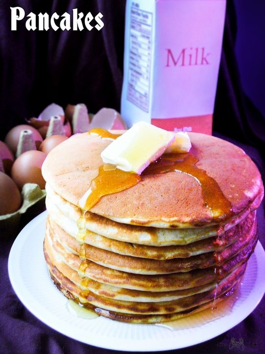 pancakes - saints row iv - puszyste naleśniki amerykańskie-m