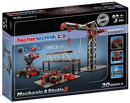 Fischertechnik Mechanic  Static 2 Building Kit 500 Piece <3 Find out more by clicking the VISIT button