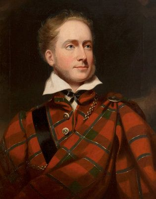 Earl of Caithness in highland dress by Sir John Watson-Gordon.  National Trust Scotland.