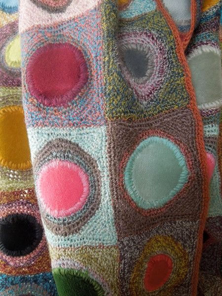 Coeur velvet large scarf — french needlework kits cross