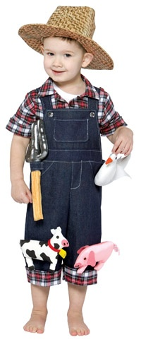 Maybe Connor will be a farmer for Halloween